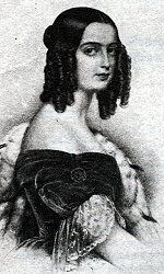 Isabel Maria de Alcântara Brasileiro (1824 - 1898). Daughter of Pedro IV of Portugal and Domitila de Castro.
