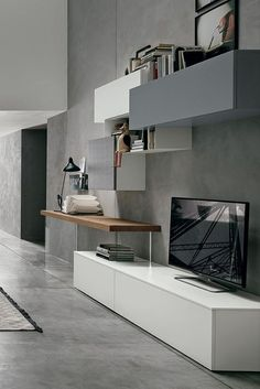 Modern Wall Unit by Tomasella, Italy