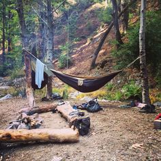 Hammock camping. This is how we should roll next Hatit trip. Or even next weekend