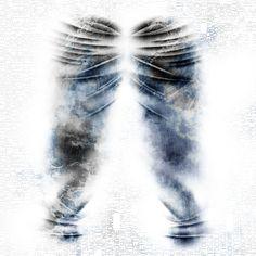 True blue denim, laser design. #laserdesign #laser #textile #denimlaser #laserdenim #denimlaserprint #jeans #vintage #fashiondesign