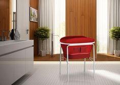 Bañera Aqua rojo