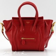 When you buy celine bag, you can note that it is made up of 100% bonded leather structure which is used not only used in production of clothing, but it is also used in the manufacturing process of handbags. In fact, it is paired without any lining. The two layers of #leather are compounded together in order to bring the gentle touch and thus creates a modern image.