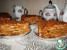 """Медовый торт """"Посольский"""" - кулинарный рецепт"""