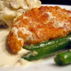 Crispy Chicken Costoletta -