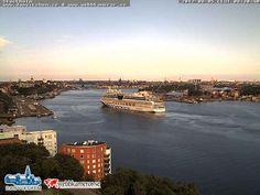 Stockholms inlopp - 5/8/2012 Aidablu arriva in porto