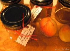 Dżem z brzoskwiń z wanilią Preserves, Homemade, Preserve, Home Made, Preserving Food, Butter, Pickling, Hand Made