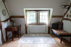 A Century-Old Home in the Normandy Countryside Layered with Indian Textiles