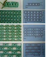 Watch This Video Beauteous Finished Make Crochet Look Like Knitting (the Waistcoat Stitch) Ideas. Amazing Make Crochet Look Like Knitting (the Waistcoat Stitch) Ideas. Crochet Stitches Chart, Crochet Motifs, Crochet Diagram, Knitting Stitches, Knitting Patterns, Crochet Patterns, Bobbin Lace Patterns, Gilet Crochet, Crochet Diy