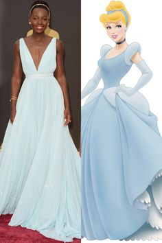 10 Times Celebrities Channeled Disney Princesses on the Red Carpet