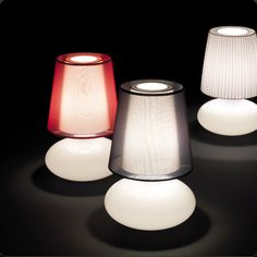 Name: MUF - 01  Design: Joana Bover / 2007  Typology: Table lamp  Environment: Indoor