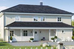 inngangsparti med bod - Google-søk Garage Doors, Mansions, House Styles, Outdoor Decor, Google, Home Decor, Decoration Home, Manor Houses, Room Decor