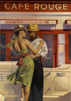 ✿Male & Female✿ Romance and Travel in painting