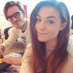 Marzia and Felix Pewdiepie Cute, Felix Pewdiepie, Computer Deals, Gaming Computer, Marzia And Felix, Marzia Bisognin, Youtube S, Cutest Couple Ever, 25 Years Old