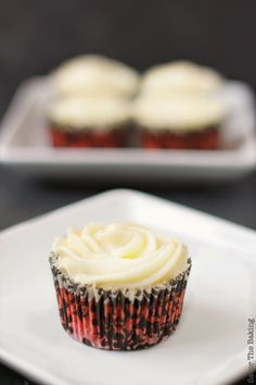 Savor The Baking: Red Velvet Cupcakes with Cream Cheese Frosting