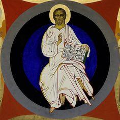 Cristo-Pantocrator_Kiko-Arguello by Camino Neocatecumenal by www.CruzGloriosa.org, via Flickr