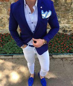 menswear blazer outfit - menswear blazer + menswear blazer outfit women + menswear blazer for women + menswear blazer outfit + menswear blazer details + menswear blazer street style + menswear blazer style + menswear blazer casual Blazer Outfits Men, Groomsmen Outfits, Blue Blazer Outfit Men, Men's Outfits, Classy Outfits, Mens Fashion Suits, Mens Suits, Men's Fashion, Fashion Guide