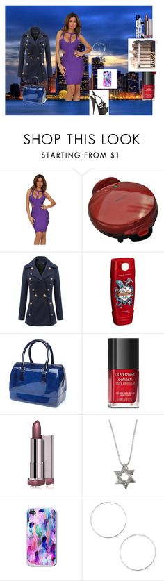 """Night on  the town"" by naomig-dix ❤ liked on Polyvore featuring WithChic, Old Spice and Forever 21"