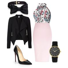 A fashion look from December 2014 featuring Prabal Gurung tops, Vero Moda blazers and River Island skirts. Browse and shop related looks.
