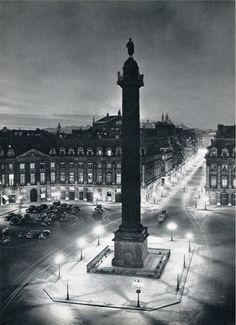 Paris, Place Vendome by Robert Doisneau.