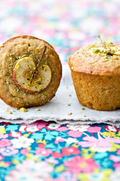 Spiced apple and brown butter muffins (gluten-free )