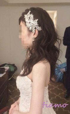 ドレスから色打掛へとチェンジ♡お洒落花嫁さまの素敵な1日 の画像|大人可愛いブライダルヘアメイク『tiamo』の結婚カタログ