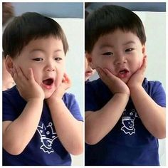 Manse so cute! Cute Kids, Cute Babies, Baby Kids, Song Il Gook, Triplet Babies, Superman Kids, Man Se, Song Triplets, Song Daehan