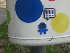 Street Art Hama Beads by Alexandra Jau