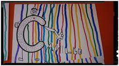 The Best Winter Art Projects for Kids and Teens Script Cursif, Math Gs, Art Plastique, Preschool Activities, Language, Drink, Food, Alphabet, Charts