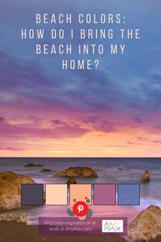 Beach-inspired color palette for your home #color #colorpalette #colorpaletteideas #colorscheme #colorschemeideas #interiorcolorpalette #interiorcolorschemes #interiorcolorpaletteideas #interiorcolorschemeideas #beachcolors Amy Wax, Outdoor Paint Colors, Beach Color Palettes, Colour Consultant, Enclosed Patio, Find Color, Vero Beach, Off Colour, Exterior Paint