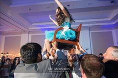 Bat Mitzvah, Hora Time.  Planned and Produced by Janice Blackmon Events. Photo by Ric Mershon.