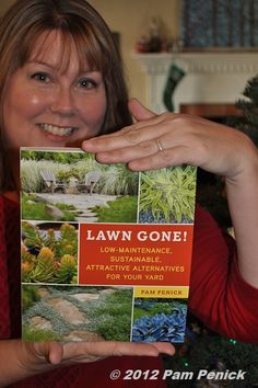 [First copy of my book is in my hands! I can't wait until it's officially on store shelves -- Feb. 12th.]  .,, Congratulations!!  Love your landscape design