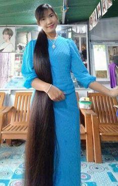 Hair 24, Cut My Hair, Your Hair, Really Long Hair, Super Long Hair, Beauty Tips For Girls, Ponytail Updo, Hair Meaning, Rapunzel Hair