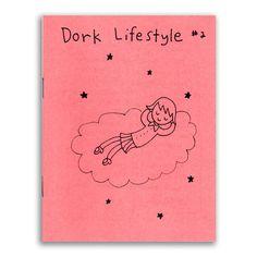 Dork Lifestyle 2 by sugarcookie on Etsy, $2.00 #zine #comic #cartoon #journal #fierceandnerdy