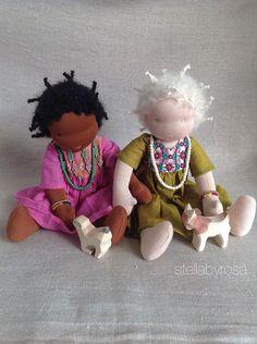 African sisters...stellabyrosa op Etsy.com