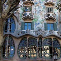 Gaudi in Barcelona, Catalonia...