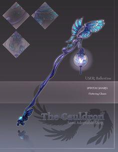 [The Cauldron] Special Shard- Fluttering Gloam by furesiya.deviantart.com on @DeviantArt