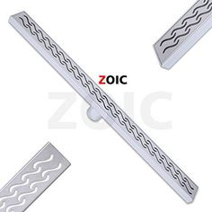 ZOIC 3149 3543 inches Linear Stealth Tile Insert Floor Grate Bathroom Shower Waste Drain304 stainless steel 3149800MM 3149800MM -- Read more  at the image link.