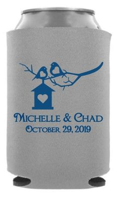 TWC-6133 One of our best selling #wedding #koozie templates. A great ...