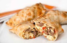 Gebackene Frühstücks-Empanadas