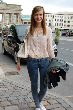 Spotted – Model Esther Heesch | fasheria.com