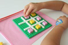 Take Along LEGO Tic-Tac-Toe - Mama.Papa.Bubba.