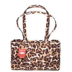 Harveys Seatbelt bags Large Satchel Snow Leopard