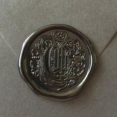 C-Initials Wax seal stamp /Heypenman crossover with BlackmarketIntl/