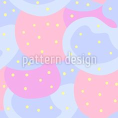 Punkte Auf Abstrakten Formen Musterdesign by Marina Zakharova at patterndesigns.com