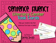 This activity provides students with practice in the specific area of varied sentence length. Students will work on creating complete sentences with detail which will help eliminate a series of several short, choppy sentences to express an idea.  20 practice cards are included along with student recording sheets, student directions, examples for students and background information for teachers.