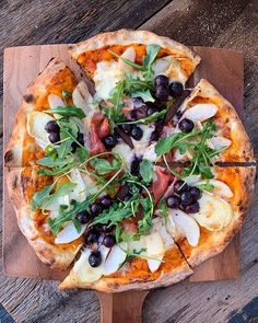 We love fall-inspired pizza. 🍕 Pear, brie, prosciutto, grapes and arugula on the Koda Outdoor Pizza Oven. 🔥 Show us how you're cooking, baking and living with WS favorites by tagging Roasted Lamb Shanks, Slow Roast Lamb, Prosciutto Pizza, Arugula, Brie, Food Styling, Vegetable Pizza, Oven, Tasty