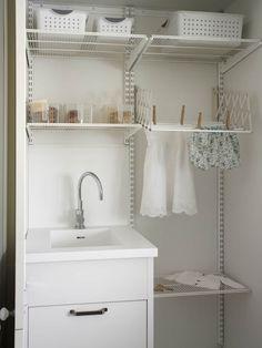 Lavadero y tendedero: Cocinas de estilo rústico de DEULONDER arquitectura domestica