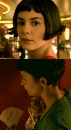 Love the movie, love Amelie's hair! I might be a little to scared to go for the chop though!