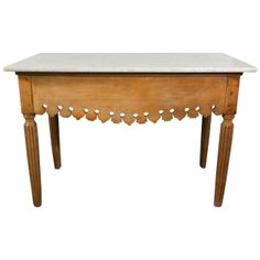 19th Century French Patisserie Table | From a unique collection of antique and modern industrial and work tables at http://www.1stdibs.com/furniture/tables/industrial-work-tables/