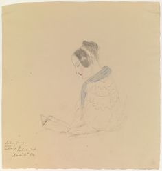 Victoria Conroy dated March 16 1834 by Queen Victoria, Queen of the United Kingdom (1819-1901)